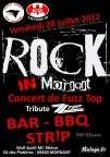 Rock in Mornant - juillet 2012
